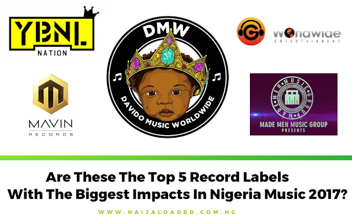 opinion! are these the top 5 record labels with the biggest impacts