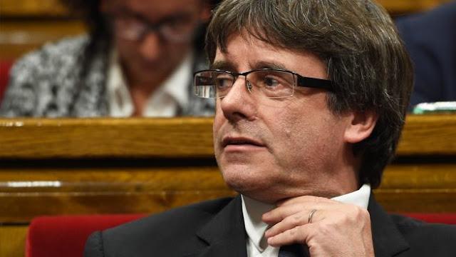 Fiscalía española solicitó orden de detención contra Puigdemont