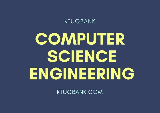 Computer Science | Year : 4 | KTU Solved Question Papers