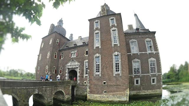 Kastell Hoensbroek in Zuid Limburg
