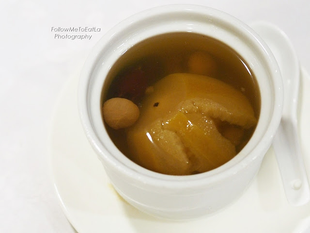 Double Boiled Apple With Dates