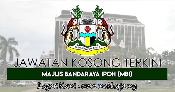 Jawatan Kosong Terkini 2017 di Majlis Bandaraya Ipoh (MBI)