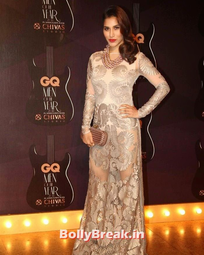 Sophie Choudry, Red Carpet Pics of GQ Men Of The Year Awards 2014
