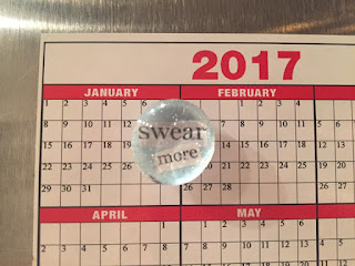 Swear More! Magnet by Lisa