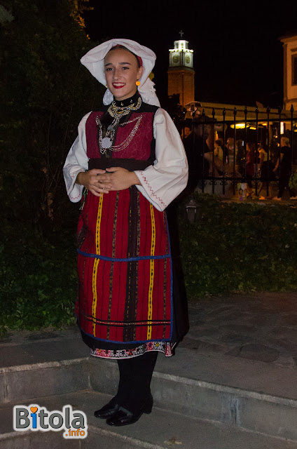 Macedonian national costume - Ethnic area Lerinsko Pole