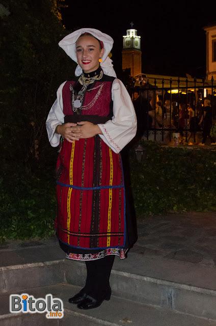 Macedonian national costume - Ethnic area Lerinsko Pole