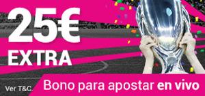 goldenpark promoción 25 euros Supercopa de Europa 9 agosto