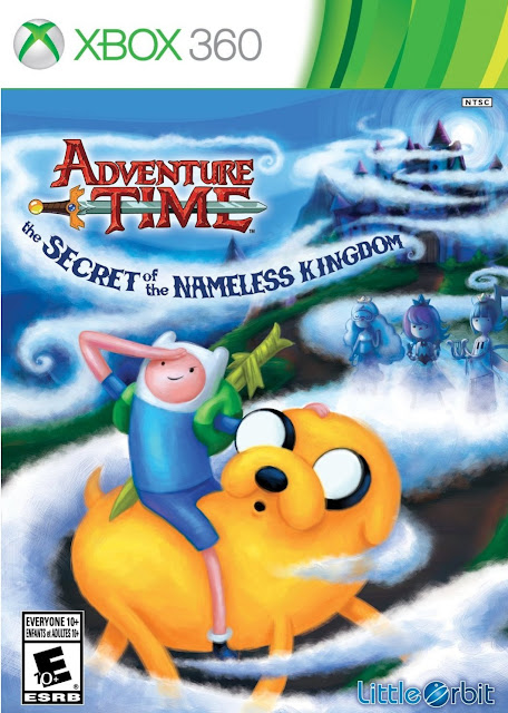 Adventure Time The Secret Of The Nameless Kingdom - Portada