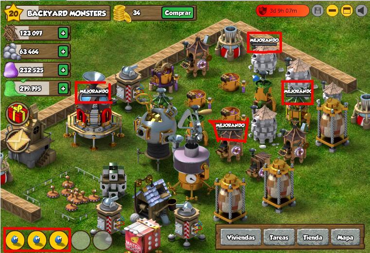 Jugar Backyard Monsters Jugar Gratis Juegos Online Sin Descargar