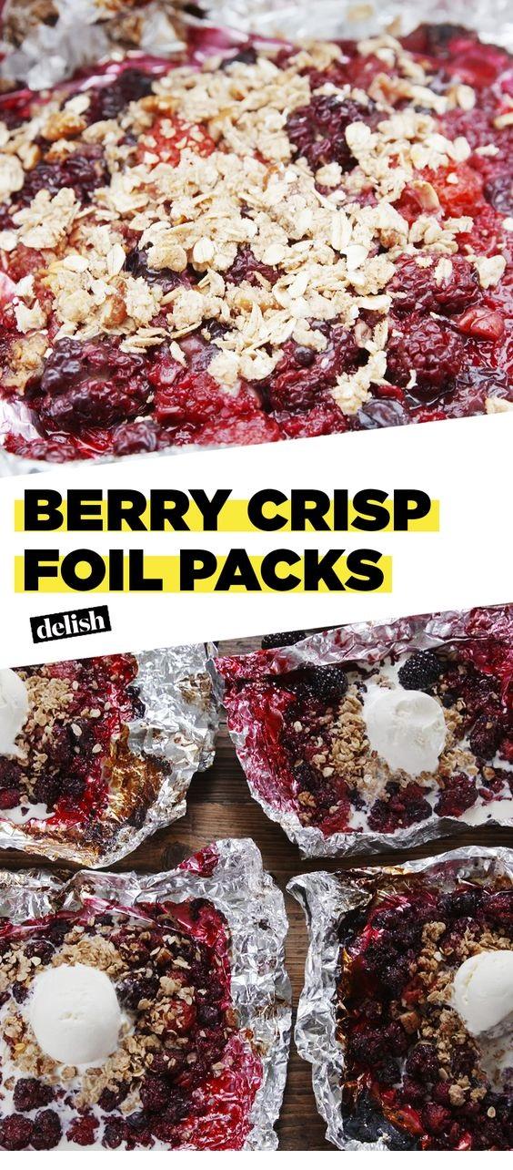 Berry Crisp Foil Packs