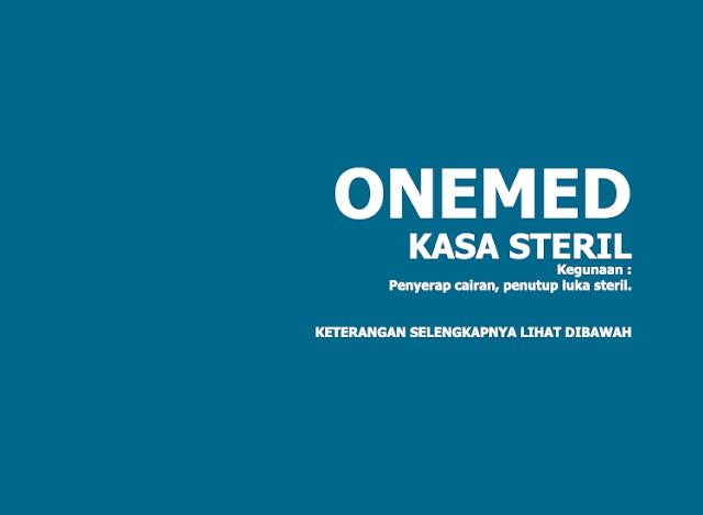 Kasa Steril Onemed (Sterile Gauze Swabs) 16cm x 16cm