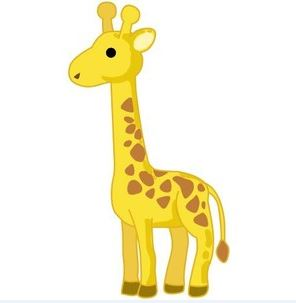 Giraffe pictures and clipart images