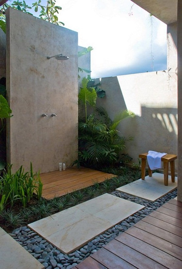 Fall In Love With Outdoor Showers - How To Build 12