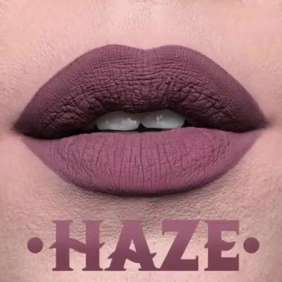 kat von d Everlasting Liquid Lipstick lip swatch haze