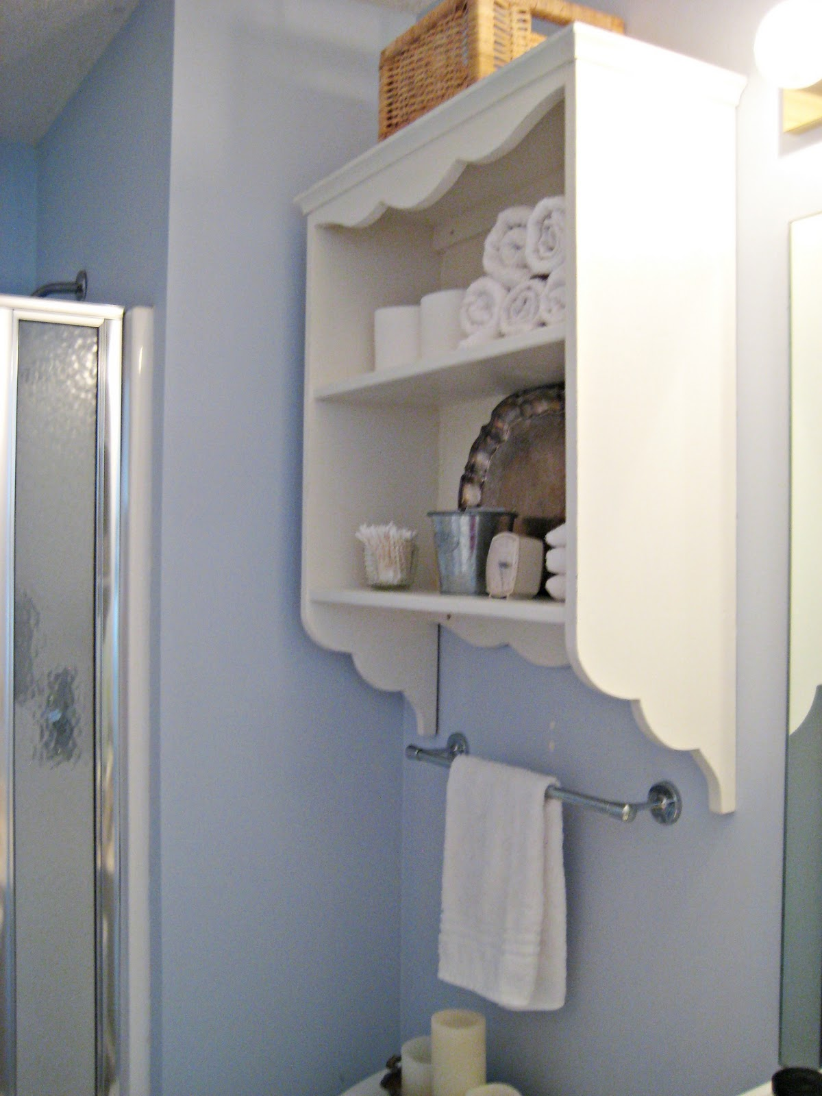 Happy At Home Adding Storage To A Small Bathroom