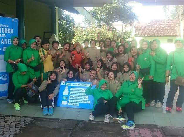 Persit KCK Kodim Kediri Sosialisasikan Papsmer Di RS DKT Kediri