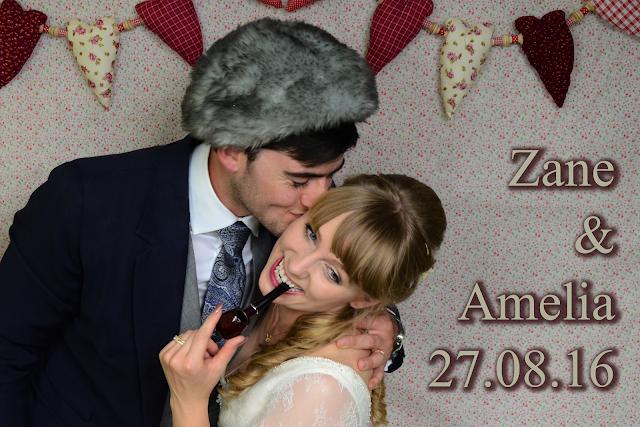 photo booth wedding Zane & Amelia