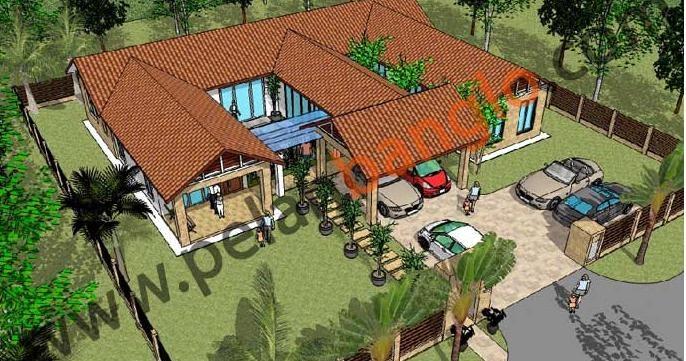 Idea Rumah Idaman Anda Idea Design Bungalow Pelan Rumah Banglo Plan Bungalow Contoh Pelan Rumah Banglo Setingkat 5 Bilik Konsep Resort