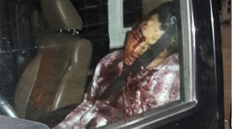 Tras enfrentamiento entre sicarios y marinos, queda saldó de un ejecutado, dos heridos y un reportero detenido.