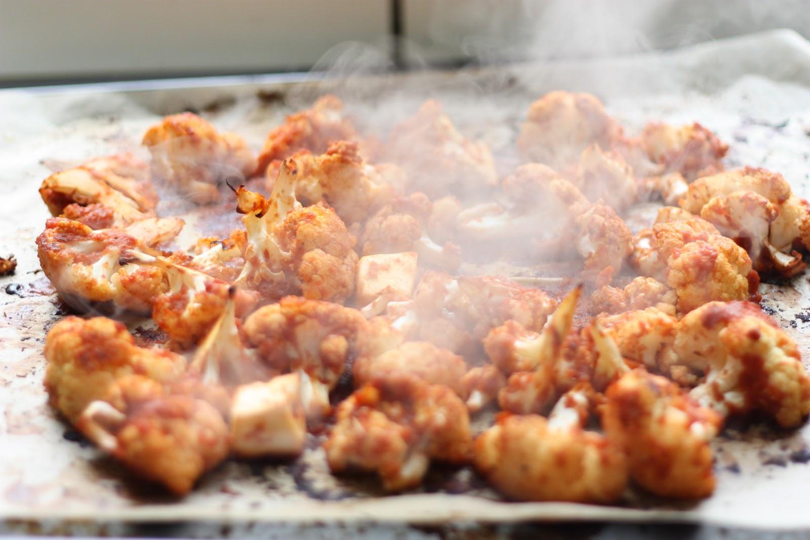 les petits plats de rose: chou-fleur rôti façon barbecue wings [vegan]