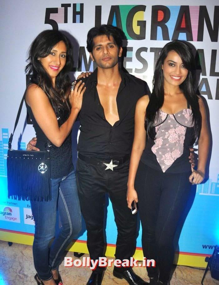 Teejay Sidhu, Karanvir Bohra, Surbhi Jyoti, 5th Jagran Film Festival Red Carpet Pics
