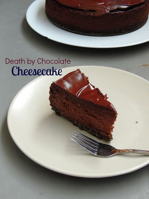 Dead by chocolate Cheesecake, Death by chocolate