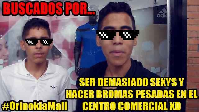 RETOS EXTREMOS (BROMAS PESADAS EN EL MALL Y PASA ESTO...)