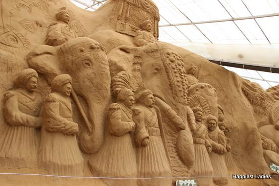 Mysore Dasara Ambari Procession - sand museum