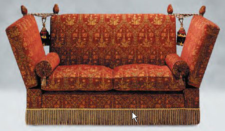 Furniture Wiki What Is A Knole Sofa