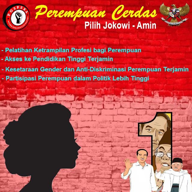 Perempuan Cerdas Pilih Jokowi