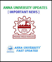 Anna University UG 1st Semester (Odd Semester) Re-opening Date for Academic year 2016-2017