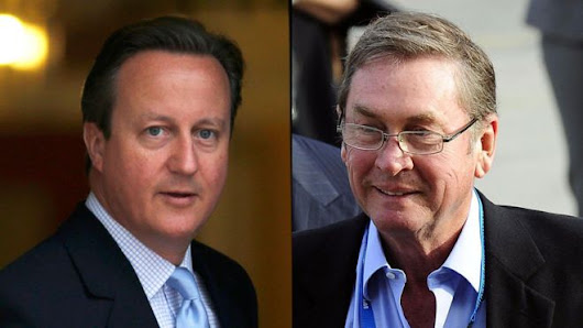 Lord Ashcroft 'not settling scores' with David Cameron book