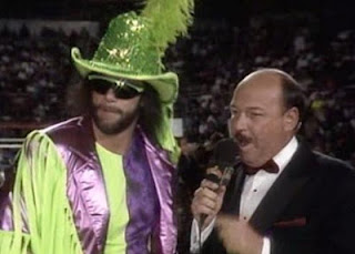 WWF / WWE SURVIVOR SERIES 1991 - Randy Savage is interviewed by Mean Gene Okerlund