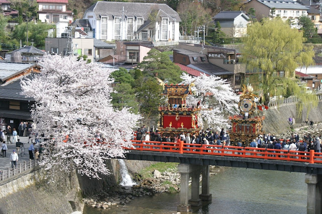 Sanno Matsuri (Takayama festival) at Hie Jinja Shrine, Takayama City, Gifu Pref.