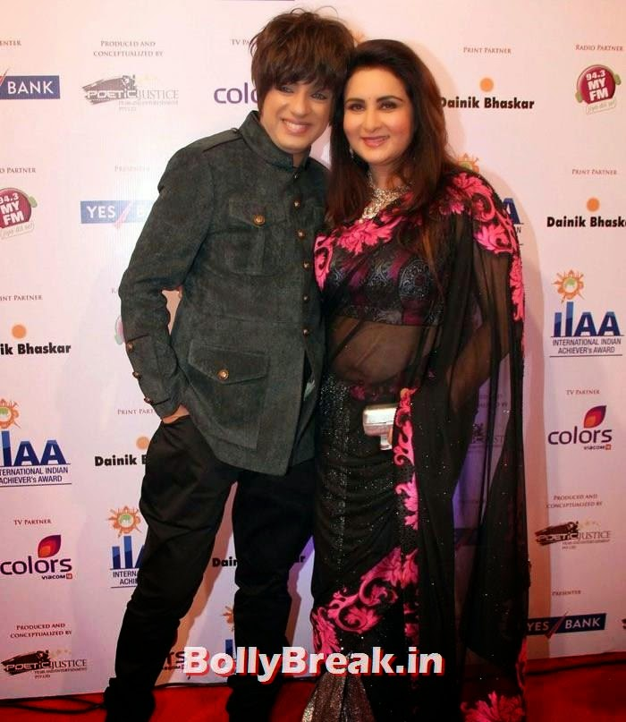 Rohit Verma, Poonam Dhillon, International Indian Achiever's Awards Photo Gallery