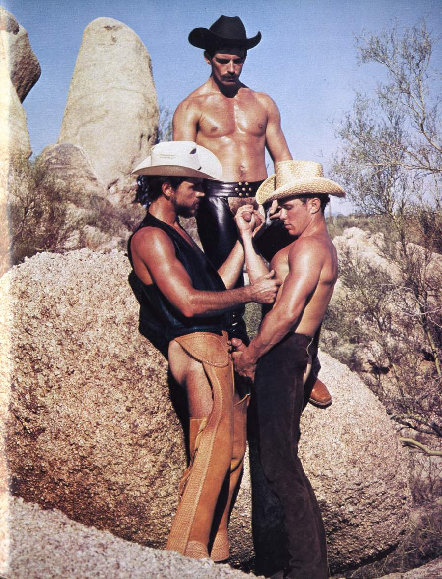 Gay cowboys and indians