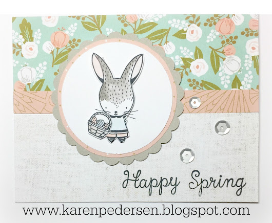 Happy Spring Card and Clearance Sale