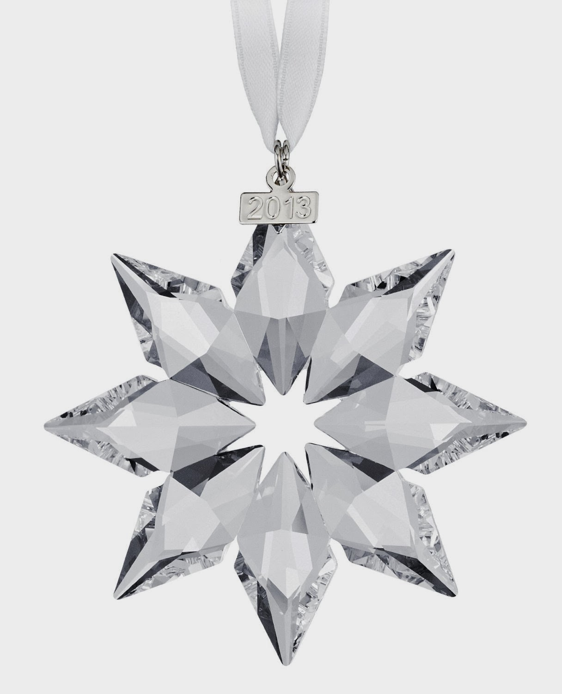 Swarovski Christmas Ball Ornament Annual Edition 2013