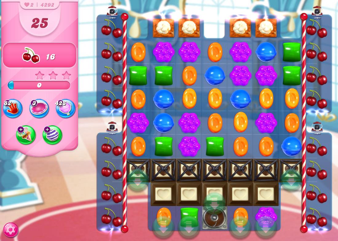 Candy Crush Saga level 4292