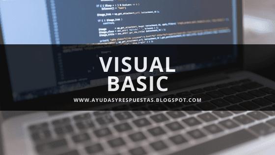 VISUAL BASIC: actividad 11 reconocimiento unidad 3