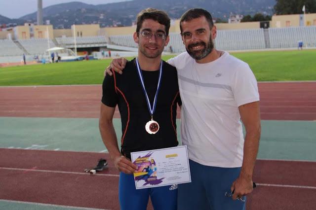 Αργυρό μετάλλιο κατέκτησε ο Κυριακός Μπέκας στους Βαλκανικούς αγώνες στην Κωνσταντινούπολη