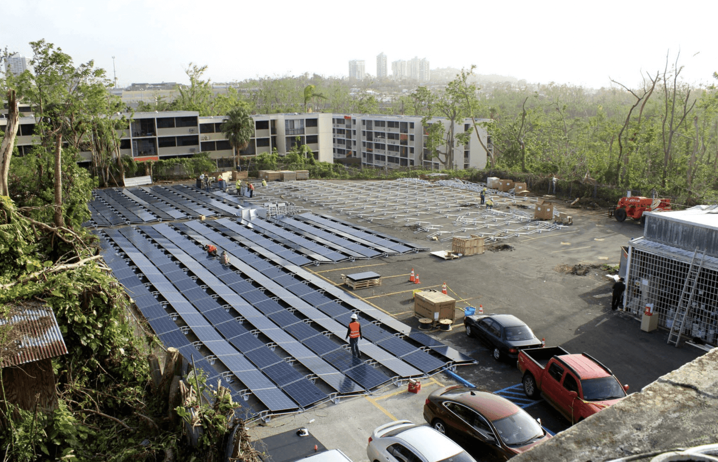 Tesla Sent Solar Panels and Batteries To Children's Hospital In Puerto Rico After Hurricane Maria Left The Island Without Power