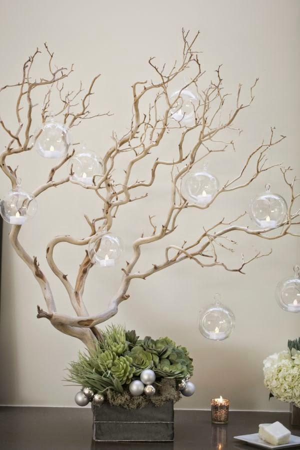 Blog de tu d a con amor invitaciones y detalles de boda - Arboles secos decorados ...