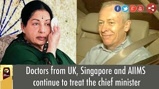 Doctors from UK, Singapore and AIIMS continue to treat the chief minister