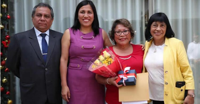 MINEDU: Ministra Flor Pablo agradece a los 4 mil 304 docentes del país que cesaron este 2019 - www.minedu.gob.pe