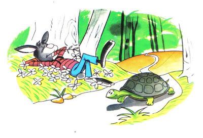 fabula corta la liebre y la tortuga