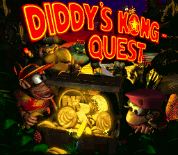 Game siap dimainkan Diddy Kong Quest