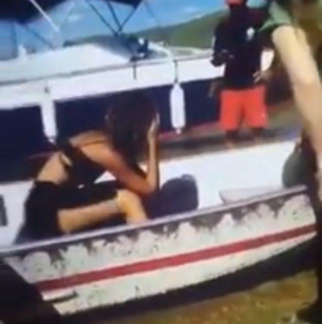Vídeo mostra o desespero de Camila Pitanga após o afogamento do ator Montagner