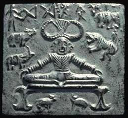 Pashupati Seal from Indus-Saraswati excavations