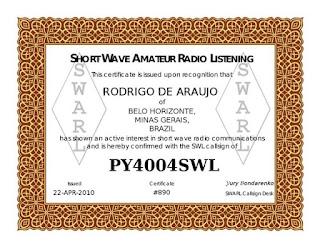 ARL Certificate